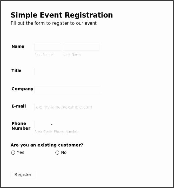 free registration form templates registration form template peerpex