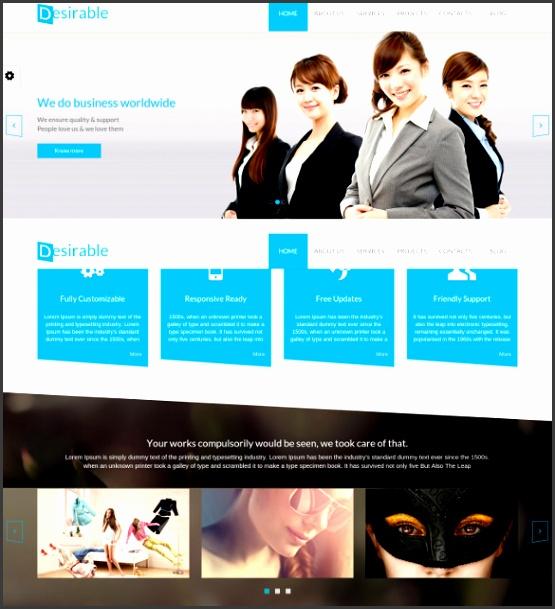 Responsive Multi Purpose HTML5 Business Template $17