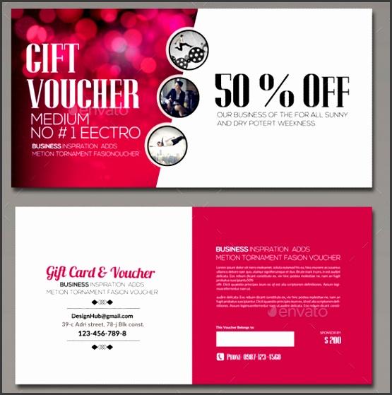 Sample Multi Use Business Gift Voucher
