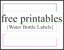 of free printable templates Water Bottle Cupcake Toppers and such Water bottle labels now with templates The Hillbilly Princess Diaries DIY Personalized