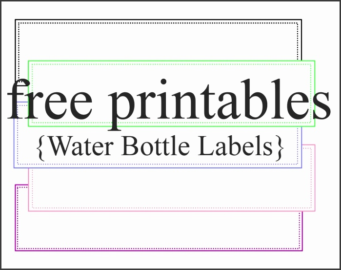 free water bottle label template 6rwrjqbp
