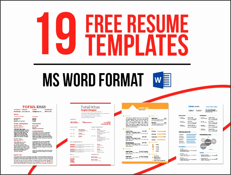 8 free word templates download