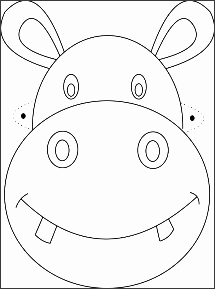 Mask Template Medium size Mask Template size Mask Template Full size