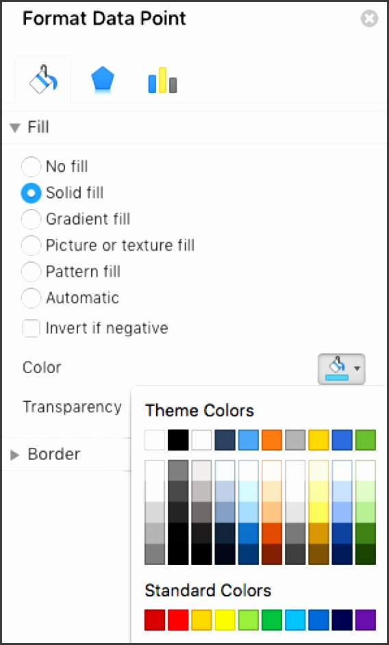 Changing taskbar colors within your gantt chart
