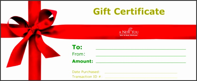 Permalink to Homemade Gift Certificate Template