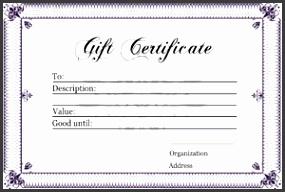 t certificate template