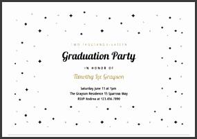 Graduation Invitation Template From Greetings Island
