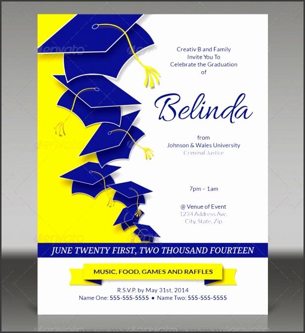 Graduation Invitations Templates Free to make Amazing Graduation Invitation Template