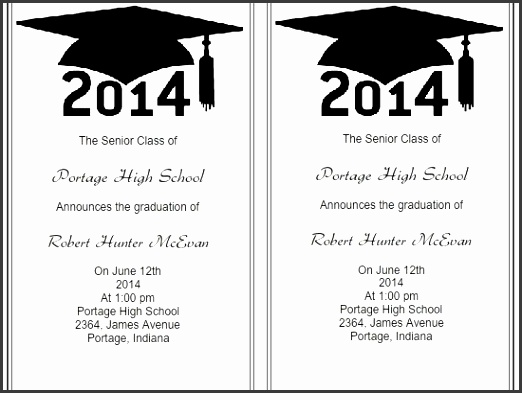 Use Iclickprint Templates For Graduation Invitations Customize Now within Graduation Announcements Template