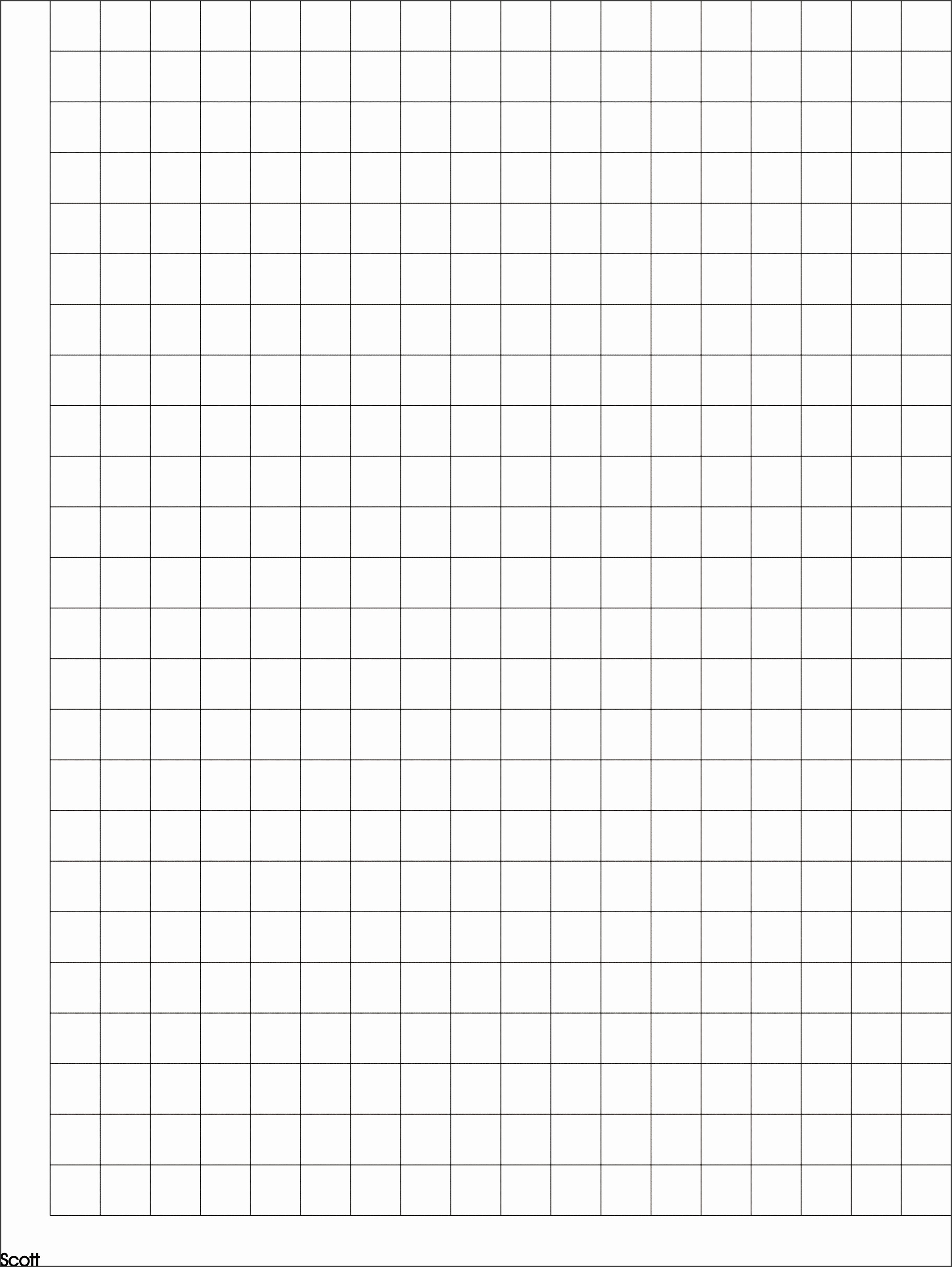 Graph Paper Template to Print