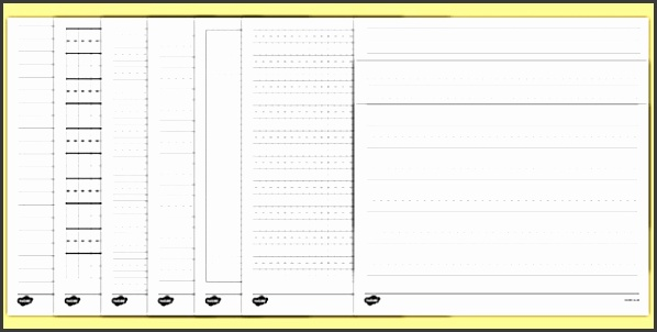 Different Lined Papers Template Pack lined paper writing lines