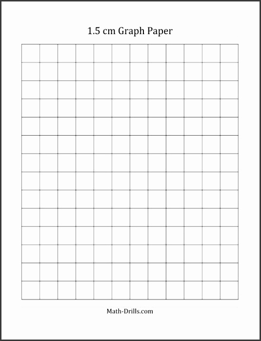 1 cm Graph Paper with Black Lines A4 Size A Math Worksheet