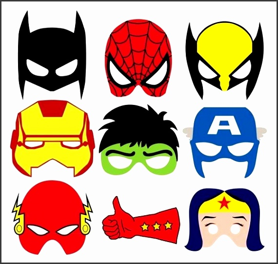 There s also some ic style sound effects to go along with these masks Just head to Behance for the print out templates