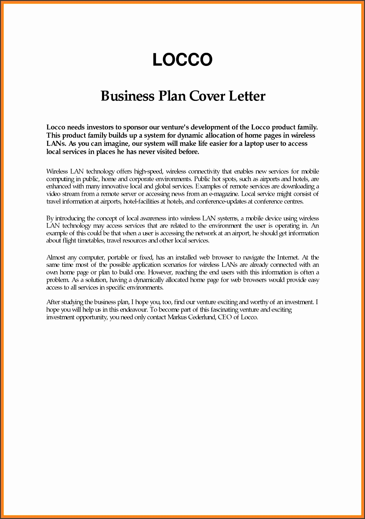 5 sample pany introduction letter template