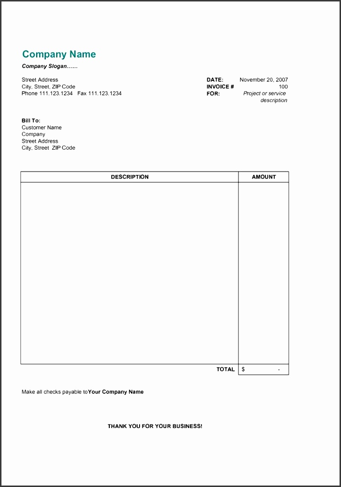 Free Invoice Template Free Invoice Receipt Template Word Awesome Make A Receipt In Word Free Printable Lawn Service Contract form