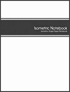 Isometric Notebook Isometric Graph Paper Notebook 1 4 Inch Equilateral Triangle