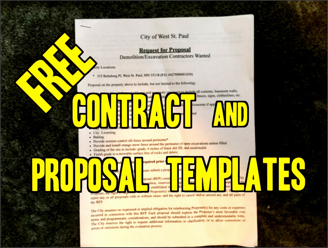 Free Sample Contracts & Project Proposals Landscaping lawn care Snowplowing and Invoice template