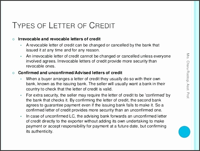 irrevocable letter of credit irrevocable letter of credit best letter examples irrevocable standby letter of credit