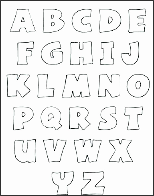 alphabet letter templates free printable letter templates free printable alphabet letters free printable letter stencils for