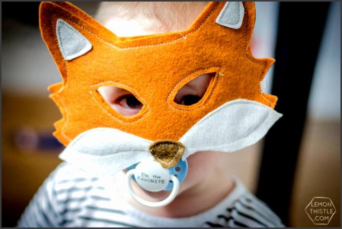 I love these DIY Felt Masks 6 Free Printable Templates