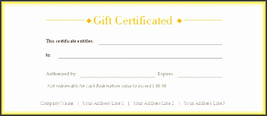 Free Gift Certificate Templates Customizable And Printable throughout Free Customizable Gift Certificate Template 4210