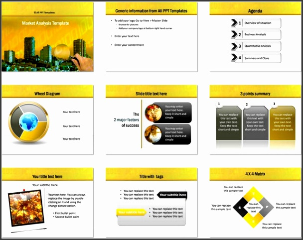 Market Analysis Ppt Template Powerpoint Market Analysis Template Download