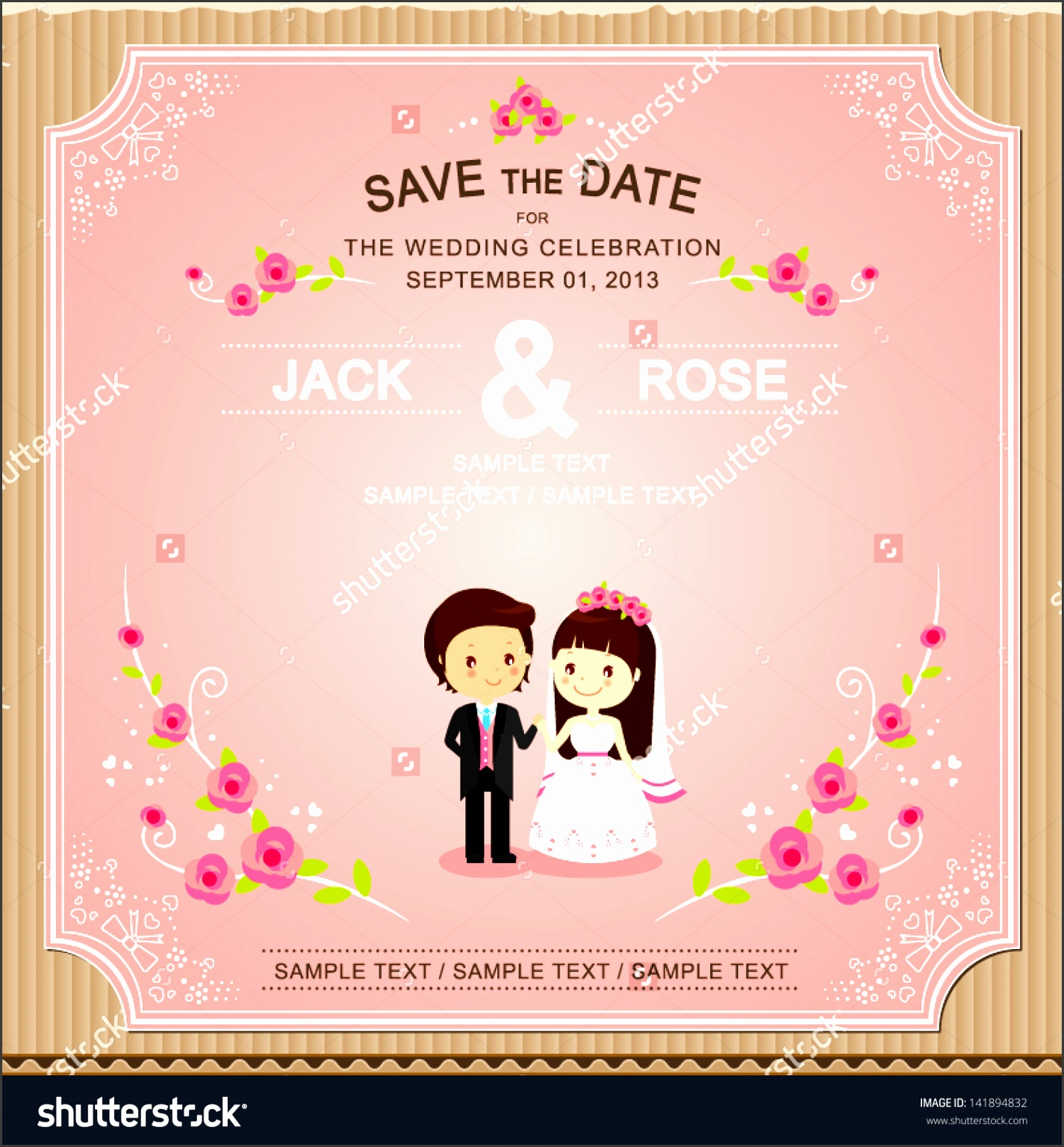 Innovative Wedding Invitation Cards Samples Marriage Invitation Card Template Ctsfashion