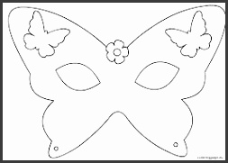 Butterfly Mask Template Printable Larissanaestrada