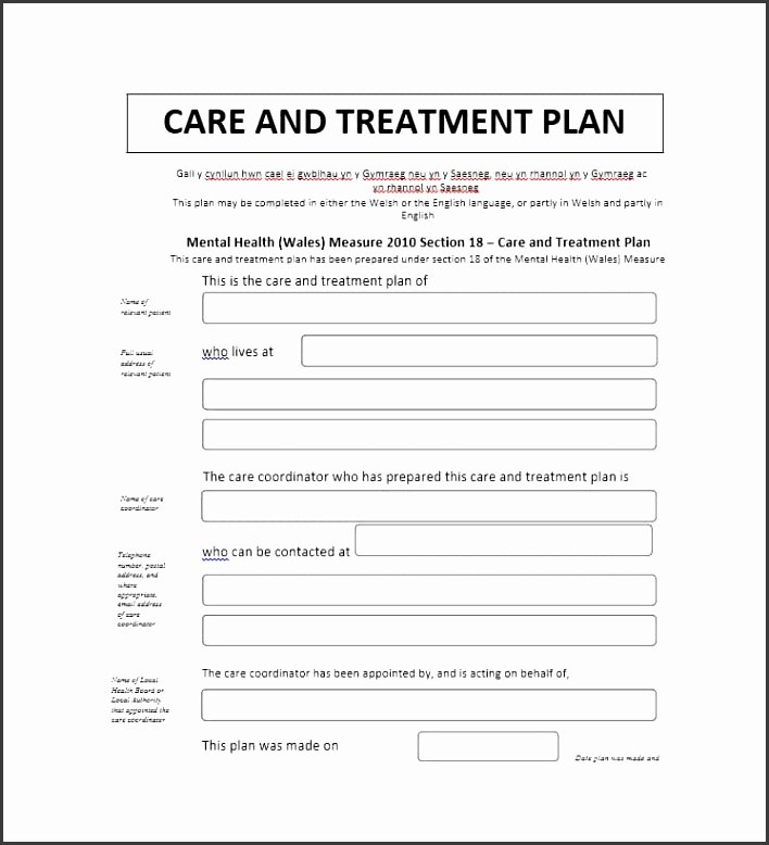 8 Mental Health Treatment Plan Template - SampleTemplatess ...