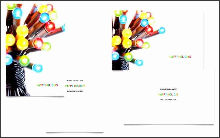 office greeting card template christmas lights greeting card template word publisher templates