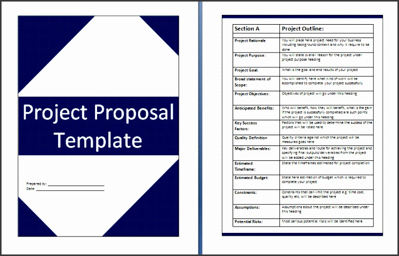 microsoft word proposal template free free grant proposal microsoft word templates