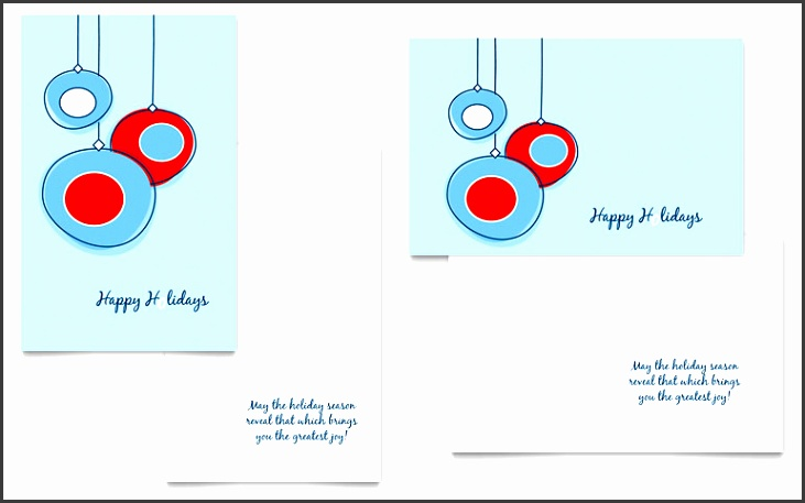 word greeting card template holiday ornament balls greeting card template word publisher free