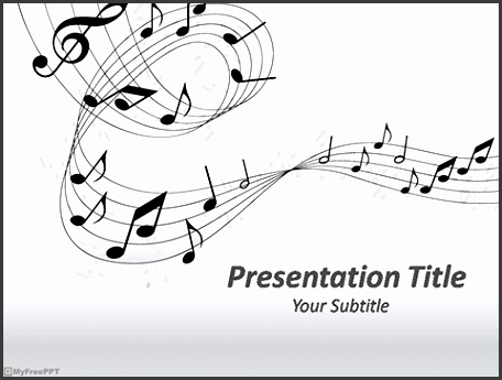 Powerpoint Templates For Music