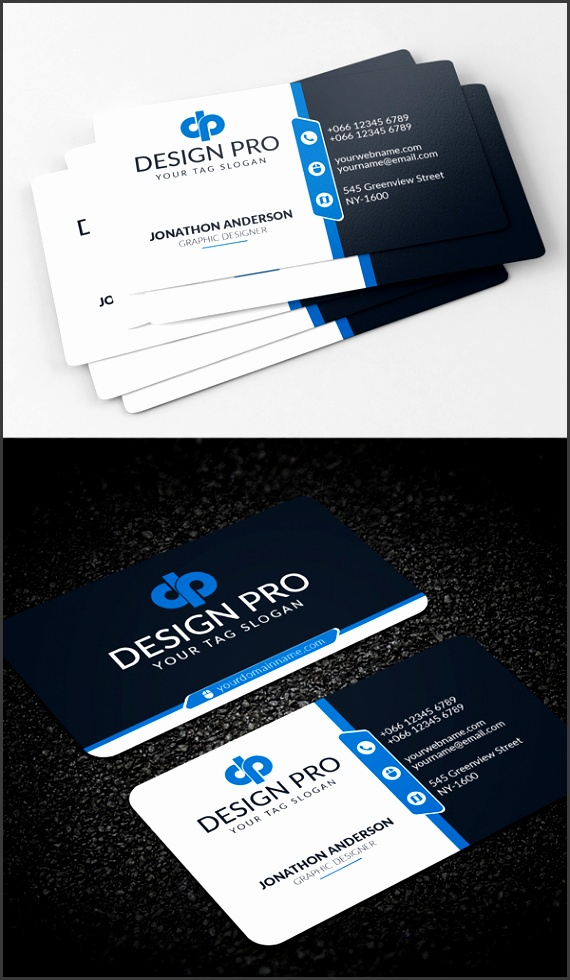 26 Modern Free Business Cards PSD Templates 17 Download Link