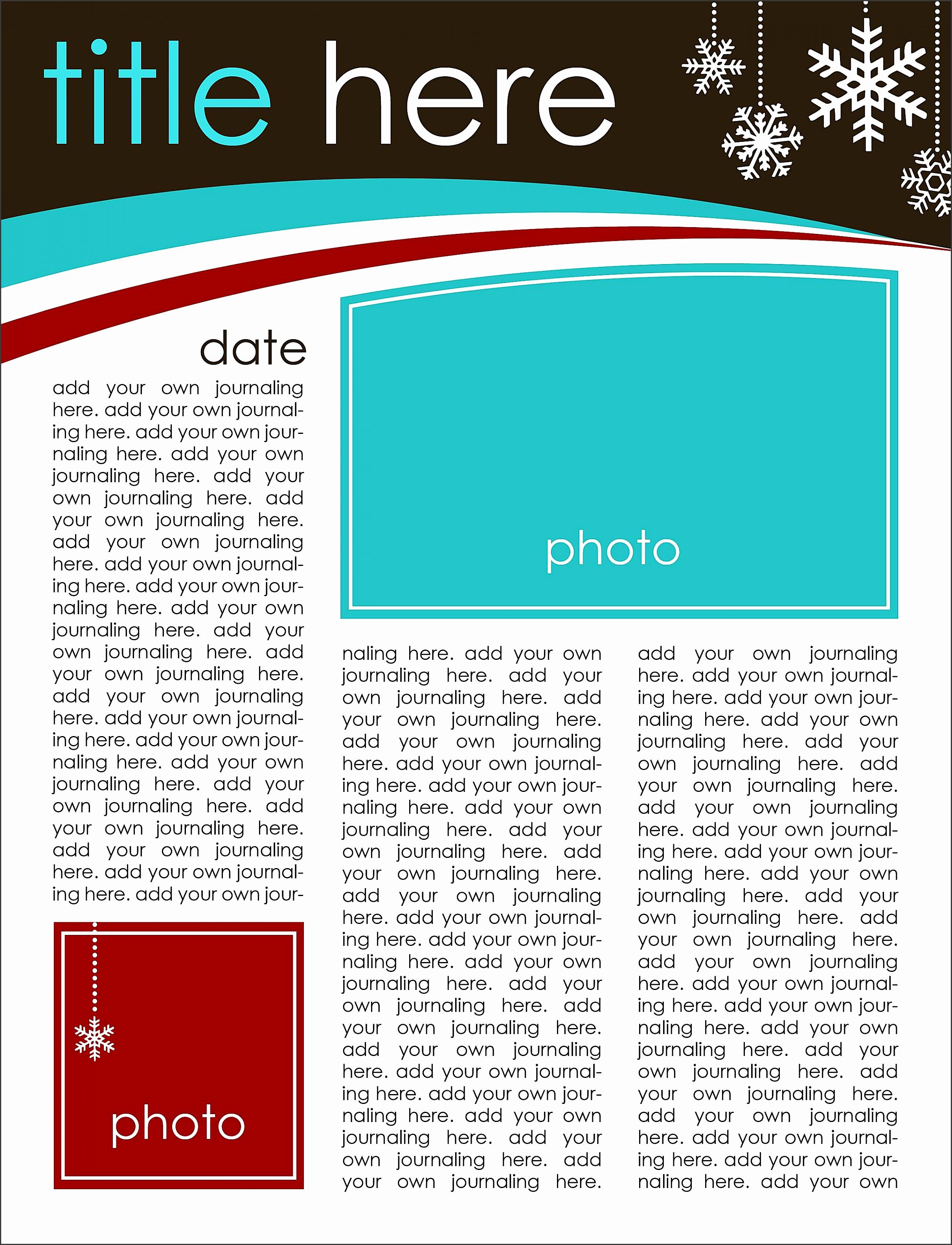 creating keepsakes free christmas newsletter templates 579bcb365f9b589aa96e41a9