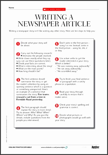 Sample Newsletter Articles For School The 25 Best School Newspaper Ideas Pinterest Newspaper Templates