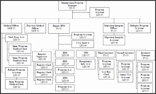 Singapore Mission Organizational Chart