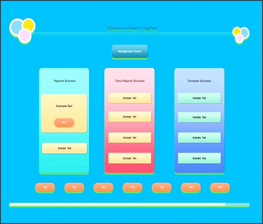Printable Organizational Chart Template 29