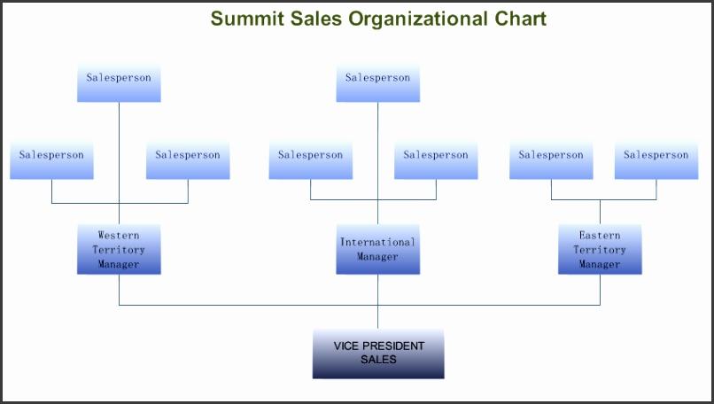 Sales Orgnizational Chart