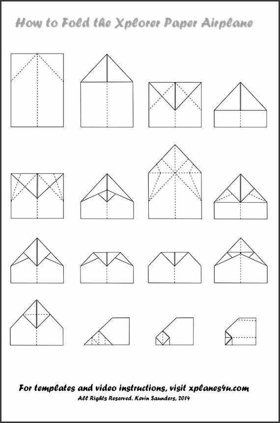Xplorer Paper Airplane Instructions pdf