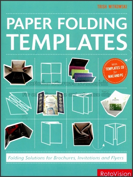 Paper folding templates folding solutions for brochures invitations and flyers