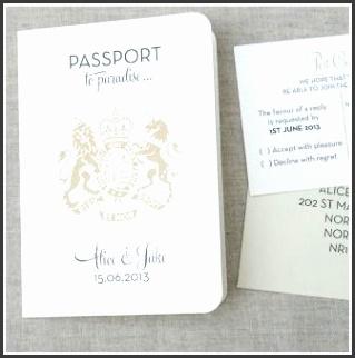 Passport Wedding Invitations Ideas and Travel Free Passport Wedding Invitations Template Themed Weddi