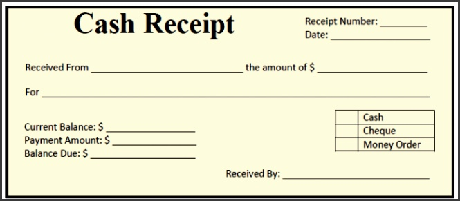 50 free receipt templates cash sales donation taxi