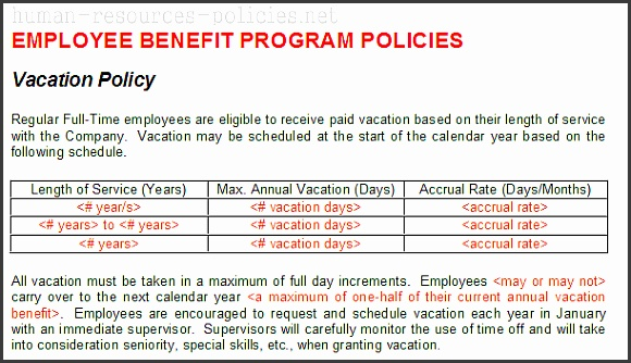 Sample Human Resources Policies Sample Procedures for Small Business Powered by AffinityHumanResources