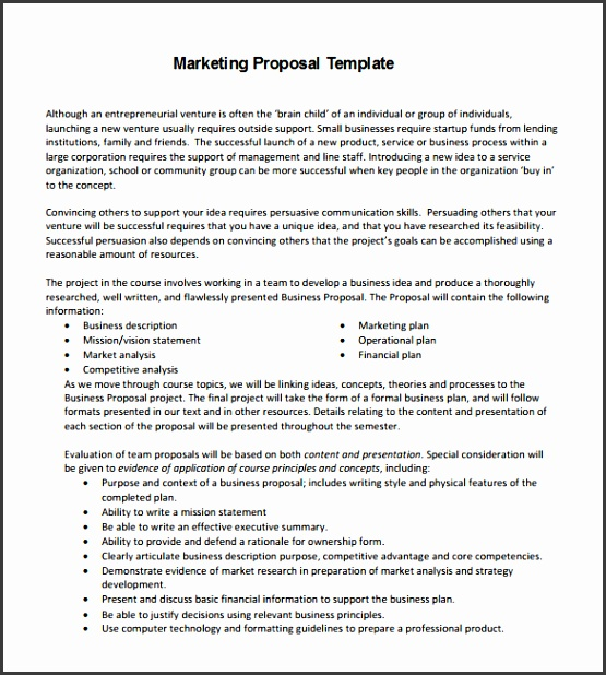 Business Proposal Template Pdf Proposal Template 140 Free Word Pdf Format Download Free Template