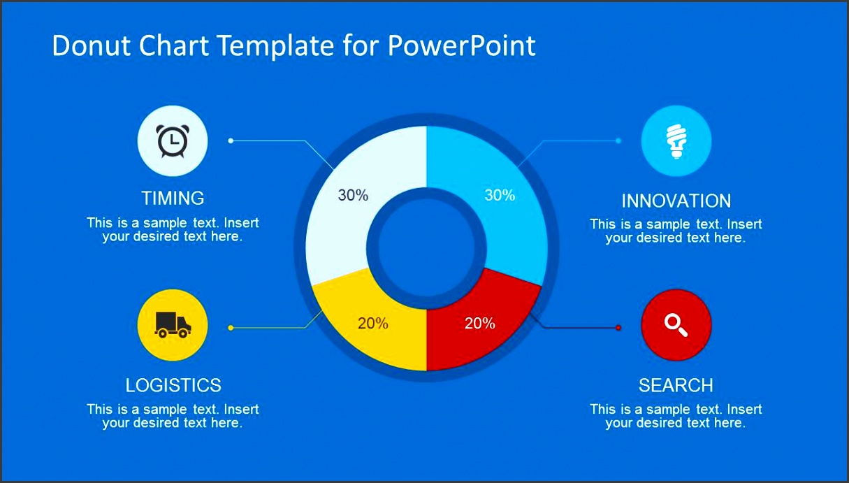 Donut Chart Slide Design for PowerPoint