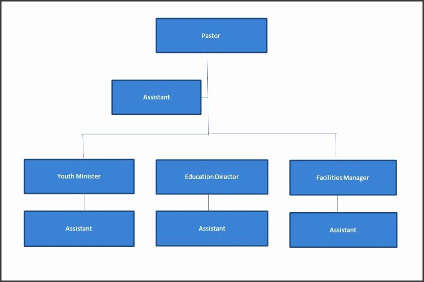 Printable Organizational Chart Template 32