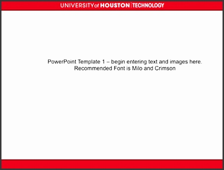 Tech Template Red White Top Center