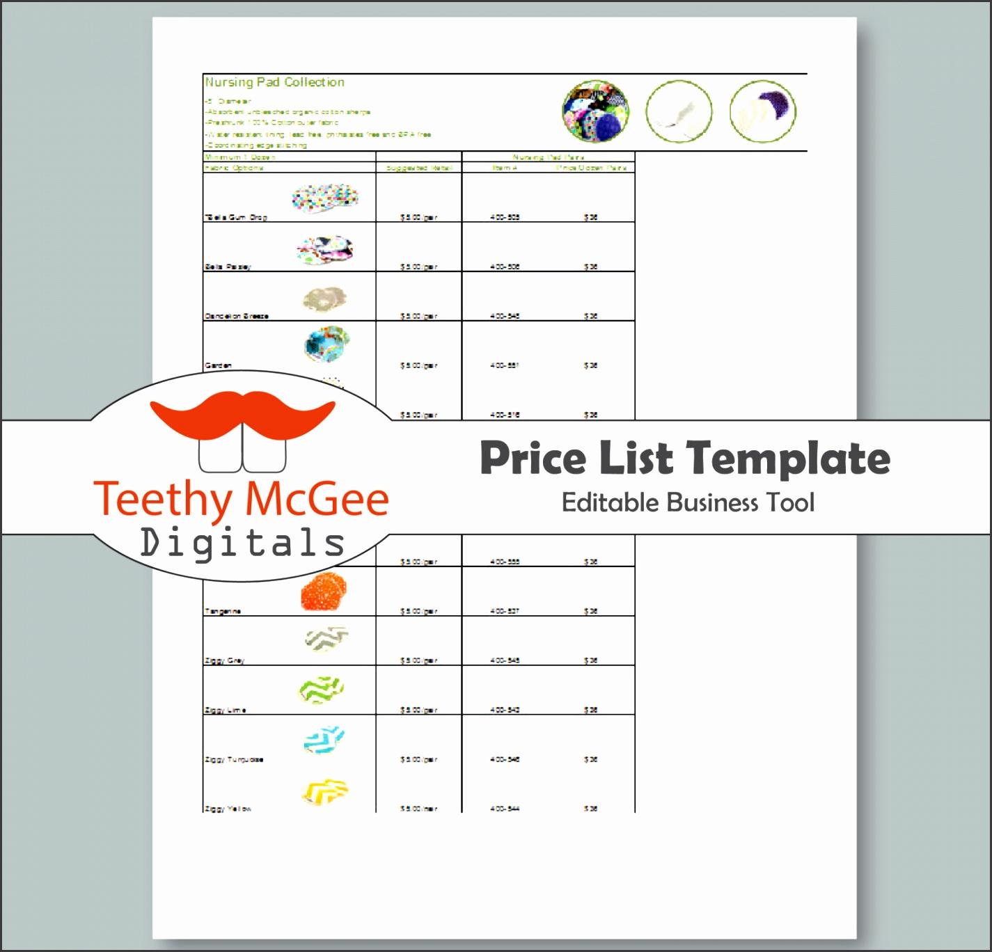 price list image 4