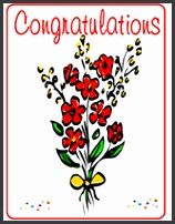 "Free Printable ""Congratulations"" Greeting Cards Template"